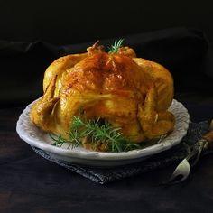 Roast Chicken with Saffron Butter by FamilySpice