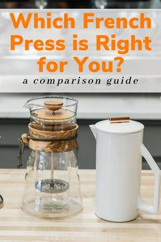 Which french press is right for you? We created this amazing comparison guide so that you could easily make your decision before you purchase. You  might be surprised by the results...  #frenchpresscoffee #immersionbrewcoffee #manualcoffeebrewing #brewcoffeeathome #homebarista