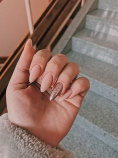 Pretty ideas of colors for nail designs for women 2019 00053 com is part of Wedding nails White Sparkle - Wedding nails White Sparkle Almond Acrylic Nails, Cute Acrylic Nails, Acrylic Nail Designs, Stylish Nails, Trendy Nails, Prom Nails, Long Nails, Wedding Nails, Nude Nails