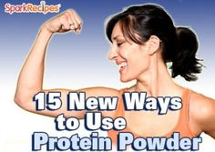 Love finding new ways to use protein powder.