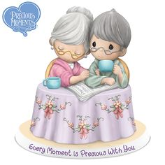 906807001 - Precious Moments Every Moment Is Precious With You Figurine