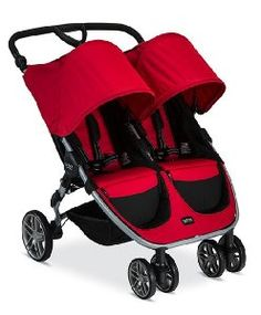 Britax 2017 B-Agile Double Stroller, Red - Great price and great build quality.This BRITAX that is ranked 6427 in the list of the top-selling products from Amaz Britax B Agile Double, Britax Double Stroller, Double Baby Strollers, Baby Jogger Stroller, Best Double Stroller, Pram Stroller, Side By Side Stroller, Twin Pram, Best Lightweight Stroller