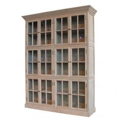 BOOKCASE CLIFTON 12 NATURAL - FURNITURE  /  Length67 ''/170cm   /   Width  18.5 ''/47cm  /  Height  85 ''/215.5cm  /  Type of material : OAK   /  Shade/Color : NATURAL - CA $4,790.00