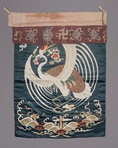 Altar frontal - Chinese, Qing dynasty, 17th century
