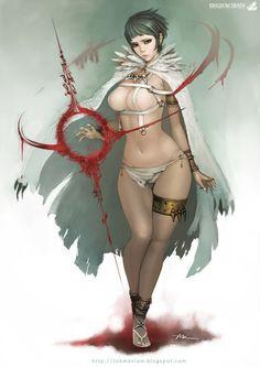 Kingdom Death - White Speaker Nico by lokmanlam
