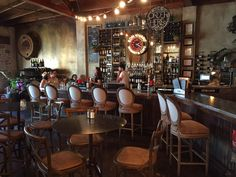 Bon Vivant Market & Cafe - Atwater Village, CA, United States. The eclectically decorated bar
