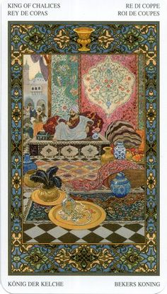 Thousand And One Nights tarot deck