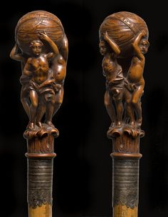 From the walking stick collection of  Daniel Traube