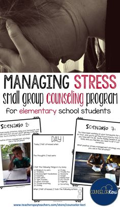 This stress management small group counseling program helps upper elementary students explore their stressors, their physiological stress experiences, their typical stress behaviors, and the thoughts they tend to have when experiencing stress and practice positive, safe stress management strategies. Lessons include interactive activities and opportunities to practice stress management skills in a safe environment. This program can also be used for individual counseling or whole group…