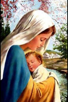 Blessed Virgin Mary, pray for us...