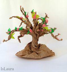 Vi sembra l'albero del pane? Veramente è l'albero fatto con i sacchetti del pane! Ecco quello che abbiamo combinato ieri io e i miei bambini per salutare l'arrivo della primavera e il miglior modo ci è parso quello…