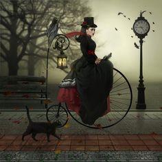 Made by: Joe Diamond - Digital Artist (Black Cat, Raven)