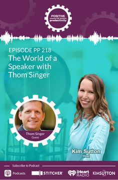 "After finding himself in a sales executive position, Thom Singer realized he wanted to do something bigger. Listen as Thom shares the story of how he became a sought-after speaker, author and eventually podcaster.  Thom and I discuss the lean, struggle days of our businesses, how the life of a speaker isn't as glamorous as one may think, how saying ""No"" isn't always the best decision, and much much more!  #speaking #speaker #keynotespeaker Reiki, The Life, Best Self, Time Management, Affiliate Marketing, Email Marketing, Business Tips, Online Business, Helping People"
