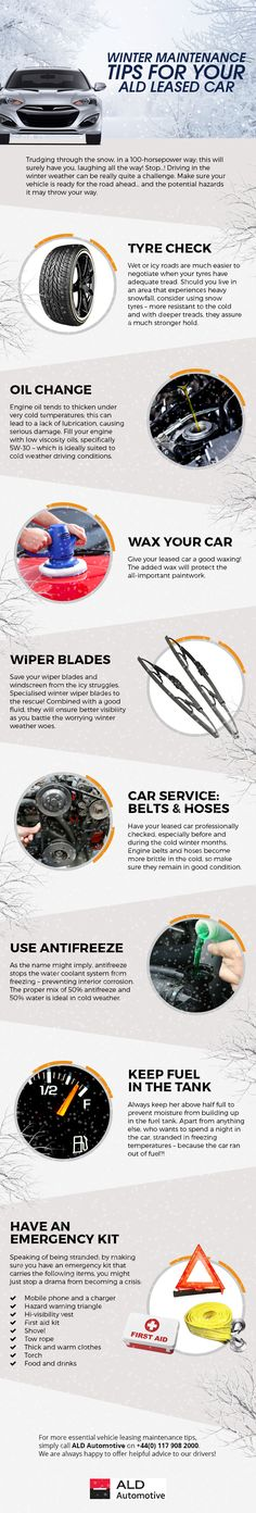 Winter Maintenance Tips for your ALD Leased Car