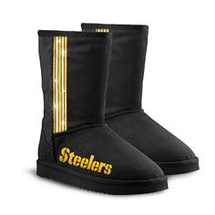 Pittsburgh Steelers Short Boots