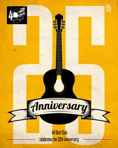The 40 Watt Club Poster by ~TML~ Graphic Designer