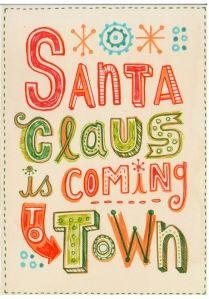 Christmas Printable - for the play room?