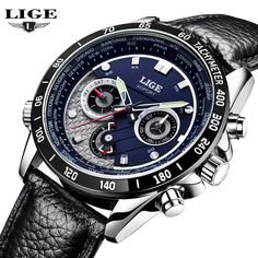 21.99$  Watch now - http://alig2e.shopchina.info/go.php?t=32756531425 - LIGE Watch Men Multifunction Date Luminous Quartz-Watch Mens Watches Top Brand Luxury Sport Leather Wristwatch relogio masculino 21.99$ #buyonlinewebsite