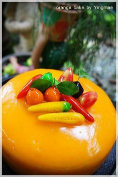 Bloggang.com : หญิงแม่ : เค้กส๊มส้ม ขอยกให้เป็นเค้ก best seller Thai Cooking, Cooking Recipes, Yams, Recipe Collection, Depressed, Bakery, Lose Weight, Aesthetics, Favorite Recipes