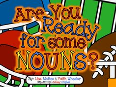 Nouns FREEBIE - Person, Place, Thing sort & Singular/Plural sort Parts of Speech