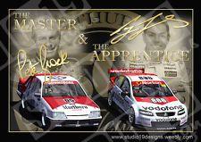 Peter Brock,Craig Lowndes Master & Apprentice Print,Holden,V8 Supercars,Bathurst