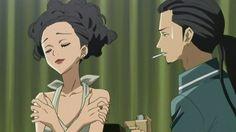 black in anime | Panda Ninja junko & takakura