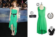 Get Bella Thorne's red carpet look for less #BreakingDawn
