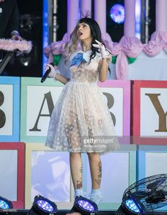 Melanie Martinez is seen at 'Jimmy Kimmel Live' on June 29, 2016 in Los Angeles, California.