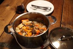 ProWare's Autumn Venison and Pheasant Stew - Pheasant has just come into season and when combined with a bit of venison and a splash of red wine it makes for a hearty stew. Venison Recipes, Slow Cooker Recipes, Cooking Recipes, Pheasant Stew, Venison Stew, Acorn Squash, Other Recipes, Recipe Using, Pot Roast