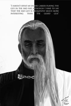 Christopher Lee by raikoart: