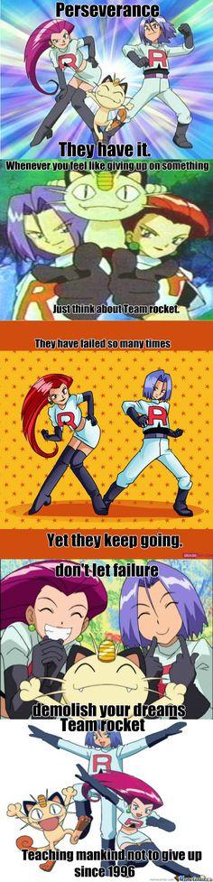 Team Rocket never quits