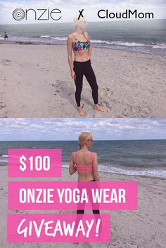 Enter to win a $100 Onzie Yoga Wear Gift Card at cloudmom.com! Easy entry! Click…