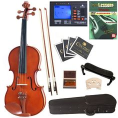Are you looking for a new fiddle/violin? You can find a selection of CECILIO VIOLINS including this CECILIO CVN-200 SOLID WOOD VIOLIN WITH TUNER AND LESSON BOOK 1/4 SIZE (free shipping) at    http://jsmartmusic.com
