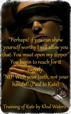 The Training of Kate by Khul Waters. OUT NOW!!!