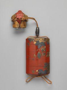 Case (Inrō ) with Design of a Gourd Vine, Yasutada KOMA (Japanese), Edo period… - Makeuptipsideas Edo Period Japan, Japan Crafts, Art Japonais, Korean Art, Japan Art, Japanese Design, Japanese Culture, Antique Art, Indian Art