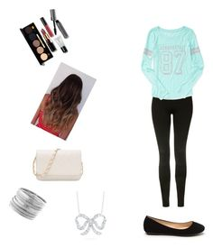 """""""Savannah's Creation"""" by my-creations-543 ❤ liked on Polyvore featuring Topshop, Aéropostale, Bobbi Brown Cosmetics, Avenue and Roberto Coin"""