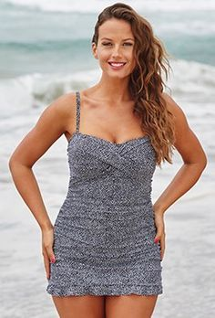 Bedrock Ruffle Swimdress
