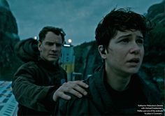 Michael Fassbender and Katherine Waterston  in 'Alien: Covenant' - 2017