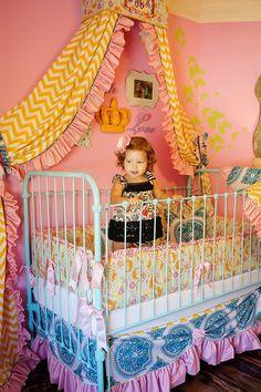 Ella Baby Bedding Set   #infant #decor #bohemian