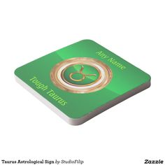 Taurus Astrological Sign Square Paper Coaster | 15% OFF anything | Enter coupon code ALLOVERSTYLE during checkout |. Good through April 6, 2016 11:59PM PT