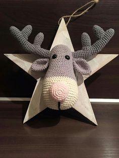 Reindeer Ralf. Only inspiration, no pattern