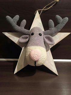 Reindeer Ralf. Only inspiration, no pattern