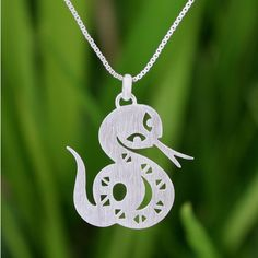 This handmade creation is offered in partnership with NOVICA, in association with National Geographic. Jantana handcrafts a fabulous necklace inspired by the Chinese zodiac. Masterfully cut by hand fr