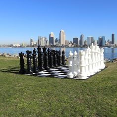 Mega Tall Chess Mega Tall Chess is our Giant Chess game but a bit taller. If you want your chess pieces to be the size of small children, then this game is for you. The Mega Chess pieces consist of 3 different parts: 1 Base, 1 Top and 1 Middle Extender Giant Outdoor Games, Giant Games, Outdoor Play, Halloween Scavenger Hunt, Scavenger Hunt For Kids, Life Size Games, Giant Chess, Love Games, Chess Pieces