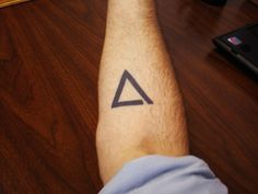 40 Simple And Stunning Triangle Tattoo Designs | http://www.barneyfrank.net/simple-and-stunning-triangle-tattoo-designs/