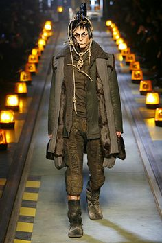 John Galliano Fall 2007 Menswear - Collection - Gallery - Style.com
