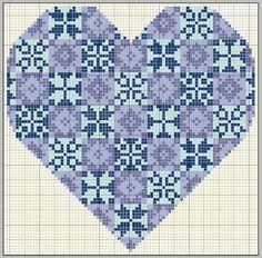 GRILLES GAZETTE94 - gazette94 - Picasa Web Albums; Snowflake heart sampler