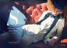 Glass Magazine – Faith – Audrey Tautou on Behance
