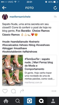 Sapato Nude #TemQueTer