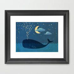 Star-maker+Framed+Art+Print+by+Terry+Fan+-+$35.00